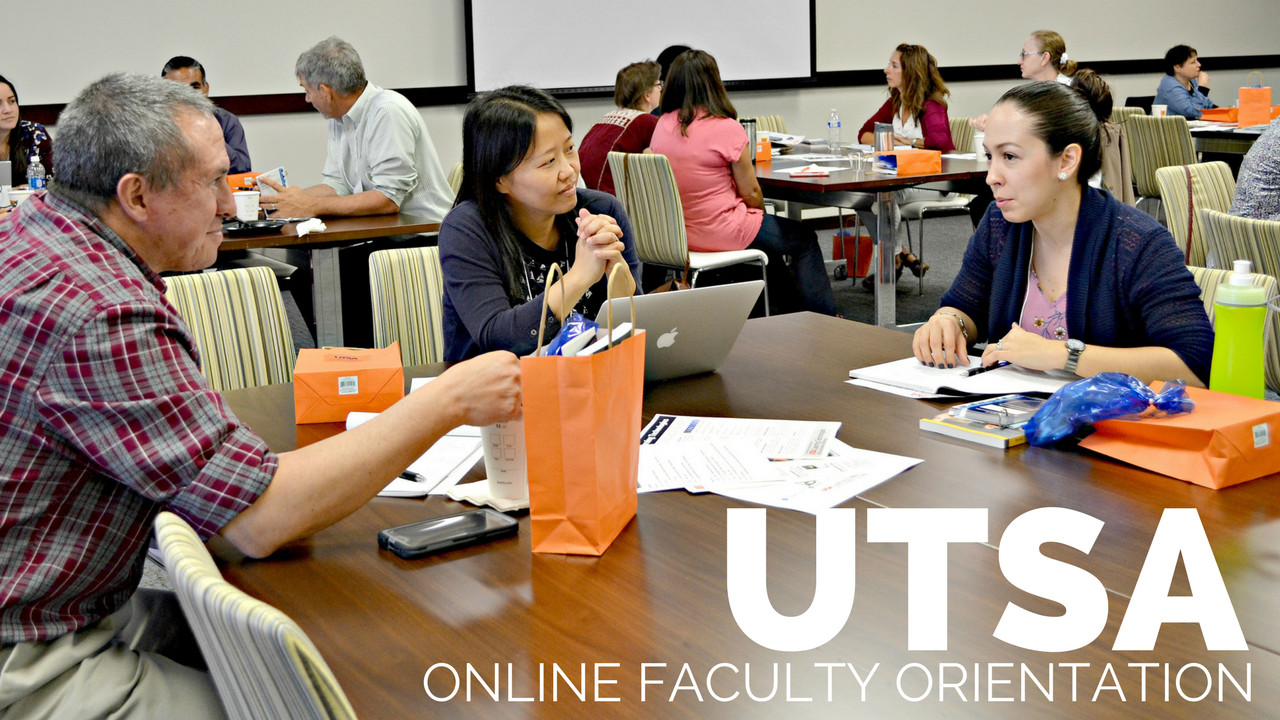 Online Faculty Orientation