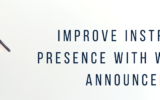 Improve Instructor Presence with Weekly Announcements